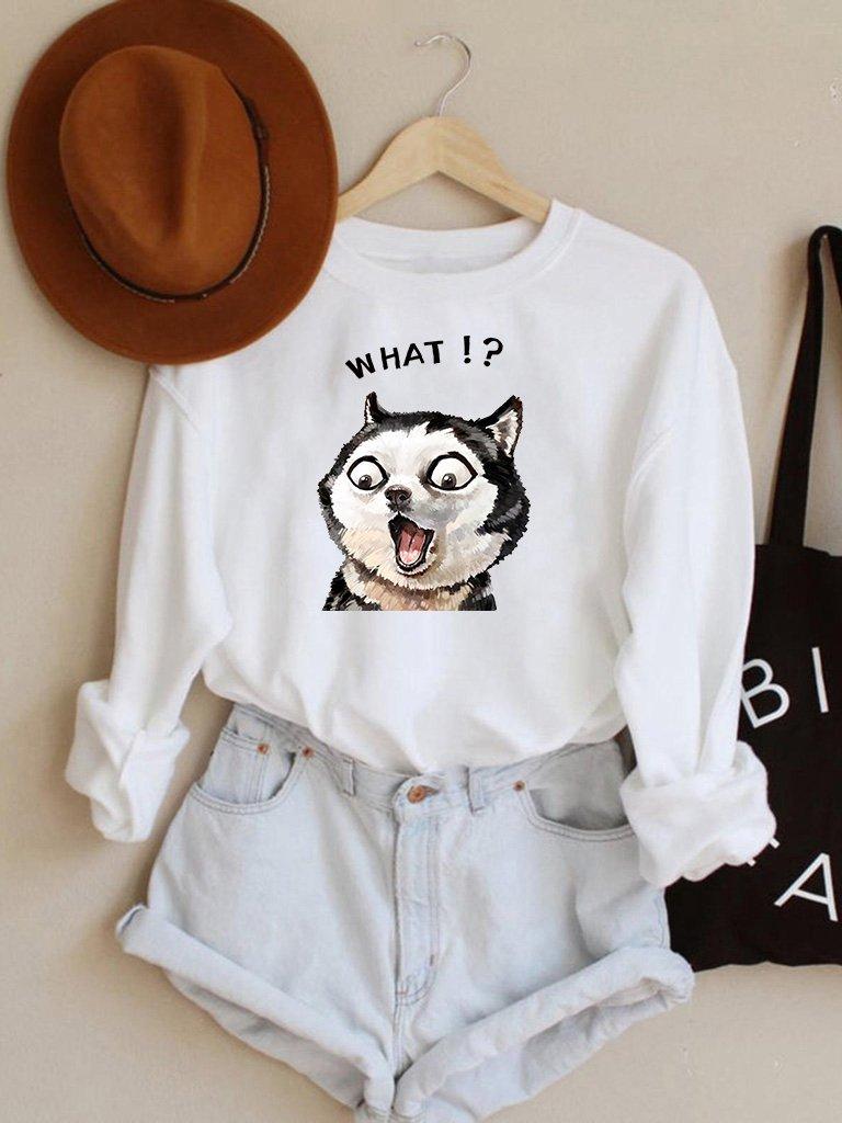 Bluza w kolorze białym What? Love&Live