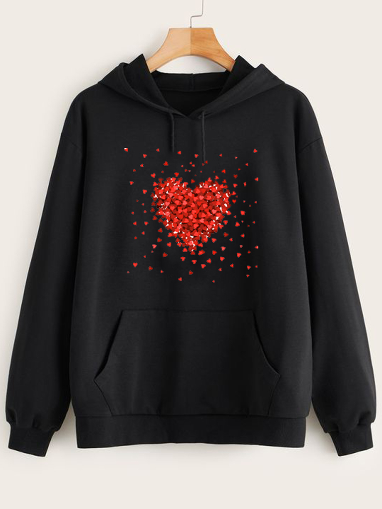Bluza w kolorze czarnym Kawałki Miłości Love&Live