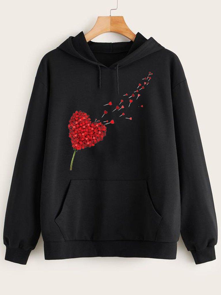 Bluza w kolorze czarnym Miłość Wisi W Powietrzu Love&Live
