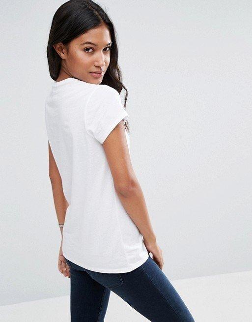 T-shirt biały Mikey Love&Live (zdjęcie 3)
