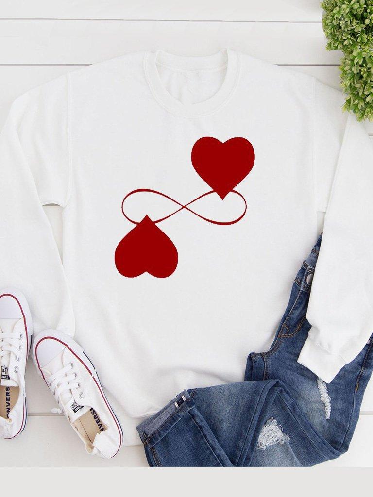 Bluza w kolorze białym Endless Love Katarina Ivanenko