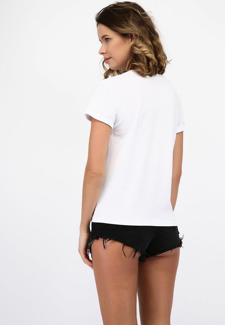 T-shirt biały Wiosenna Radość Love&Live (zdjęcie 2)