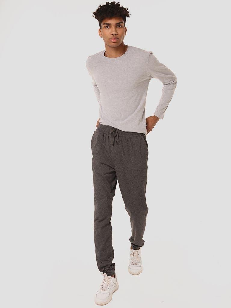 Zestaw domowy męski szary (spodnie, bluza) Love&Live