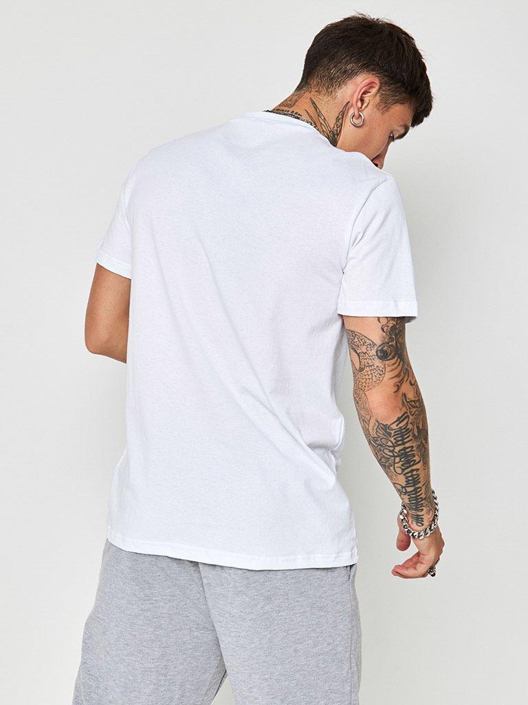 T-shirt męski biały ZUZU