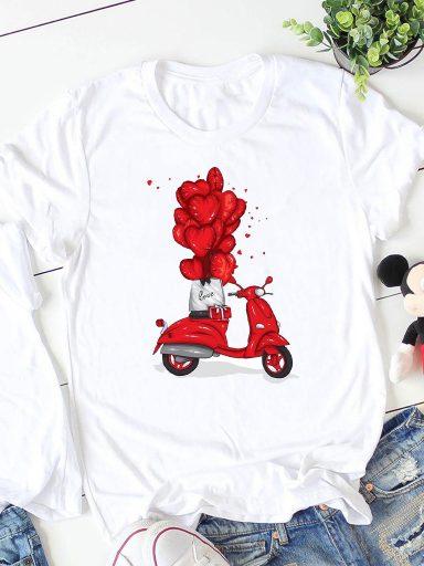 T-shirt biały Moto ZUZU