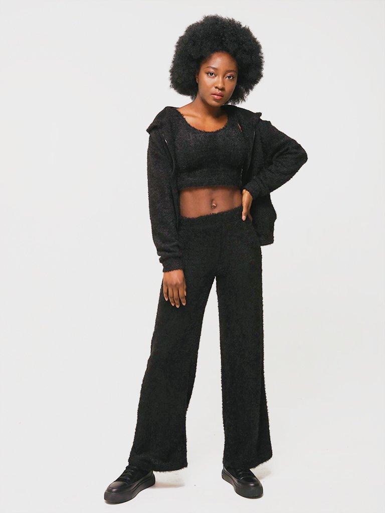 Spodnie w kolorze czarnym Katarina Ivanenko (zdjęcie 4)