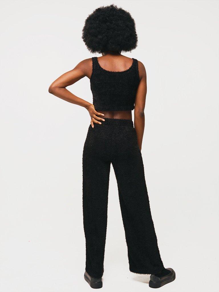 Spodnie w kolorze czarnym Katarina Ivanenko (zdjęcie 3)