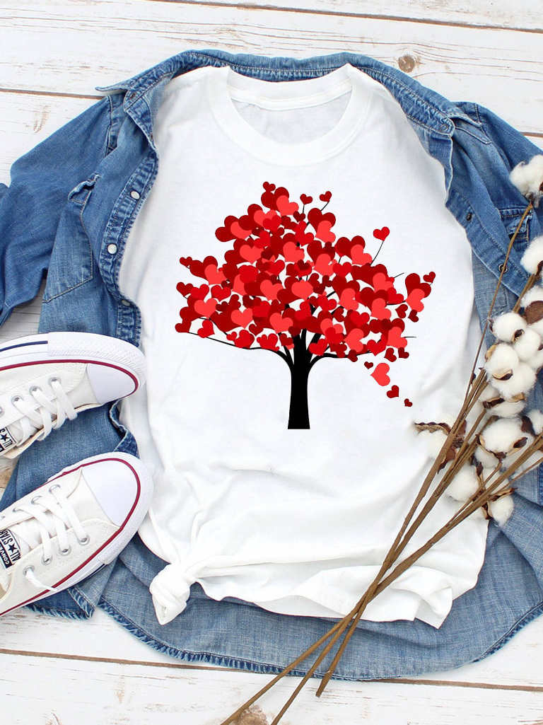 T-shirt biały Jesień ZUZU
