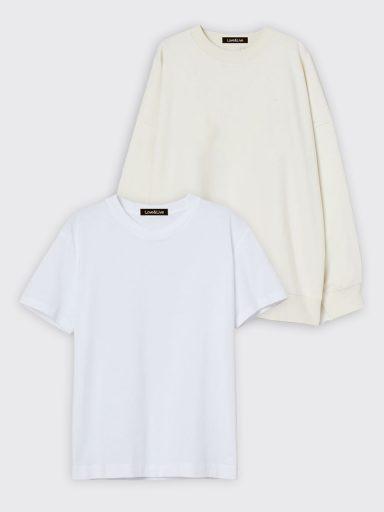 Zestaw t-shirt i bluza Love&Live