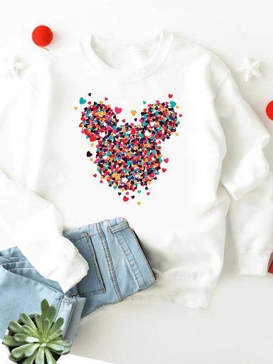 Bluza w kolorze białym Kawałki Minnie miłości ZUZU