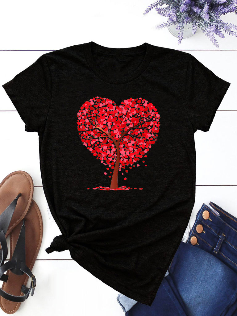 T-shirt czarny Lato ZUZU