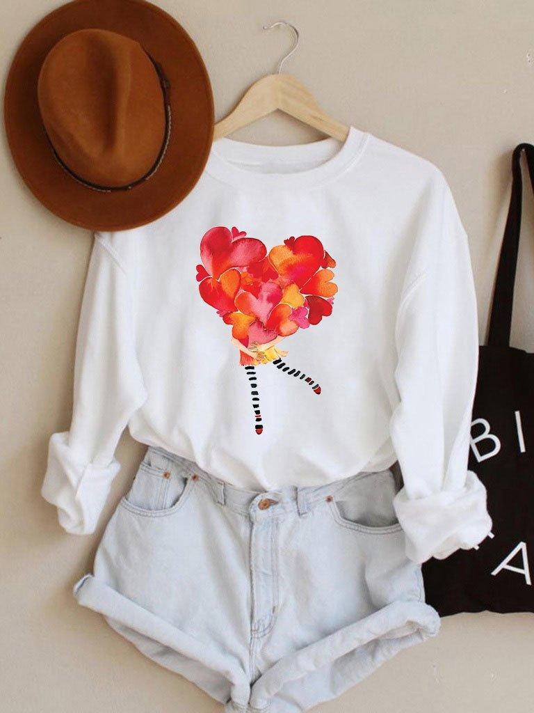 Bluza w kolorze białym Love in my hug Love&Live