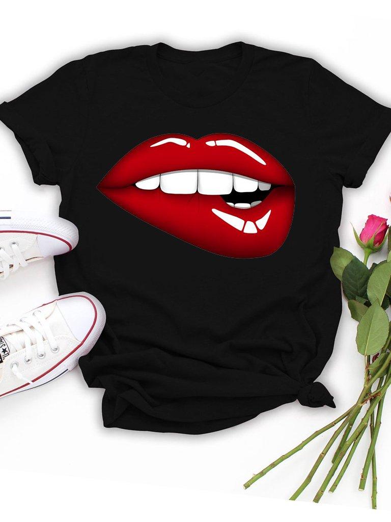 T-shirt czarny Chcę Cię Zjeść Love&Live