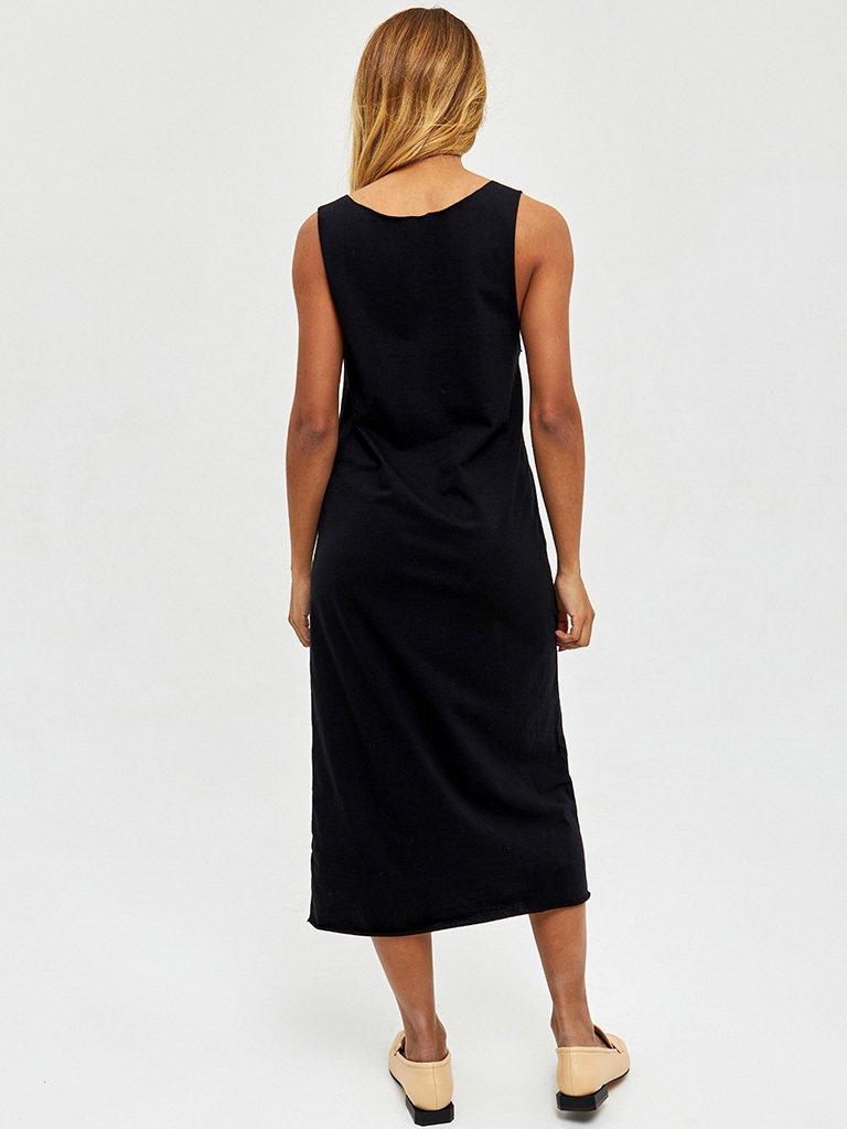 Sukienka koszulowa midi w kolorze czarnym Love&Live