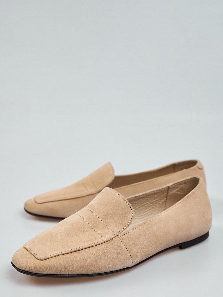 Beżowe buty zamszowe Love&Live