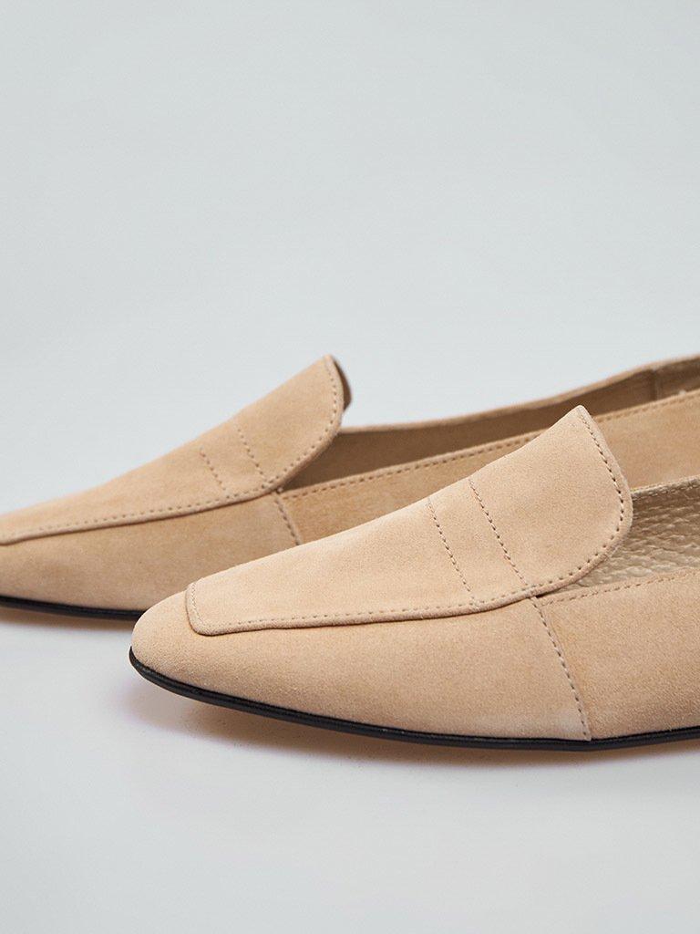 Beżowe buty zamszowe Love&Live (zdjęcie 3)
