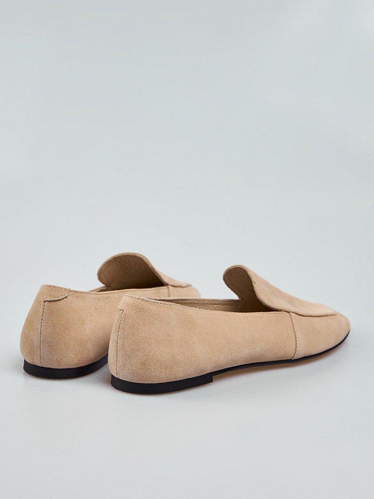Beżowe buty zamszowe Love&Live (zdjęcie 4)