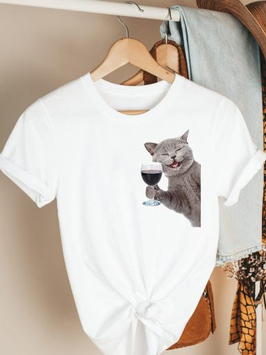 T-shirt biały Good Friday Katarina Ivanenko