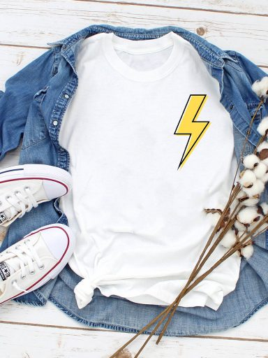 T-shirt biały Energy Love&Live