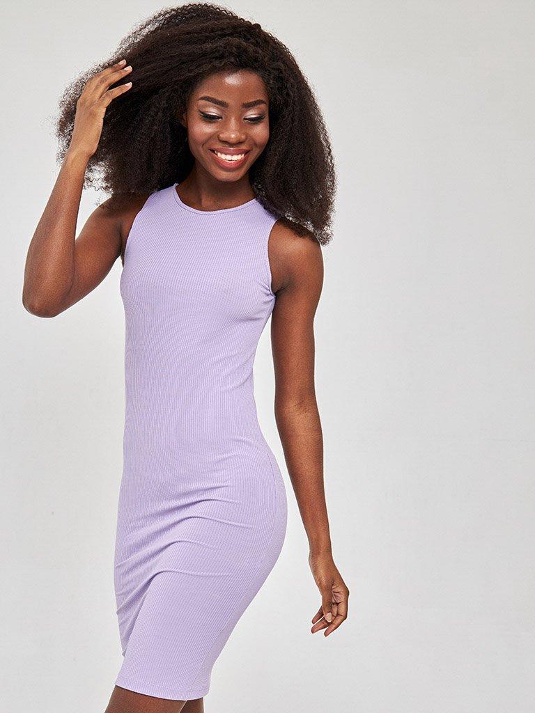 Sukienka mini w kolorze fioletowym Love&Live
