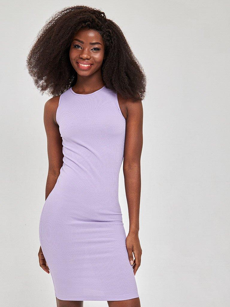 Sukienka mini w kolorze fioletowym Love&Live (zdjęcie 3)