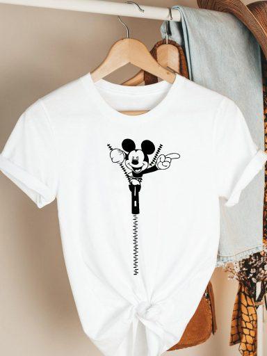 T-shirt biały I'm here Katarina Ivanenko
