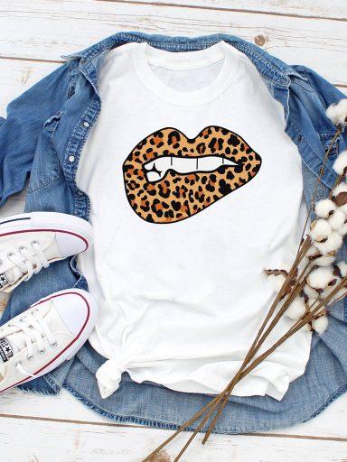 T-shirt biały Wild kiss Love&Live