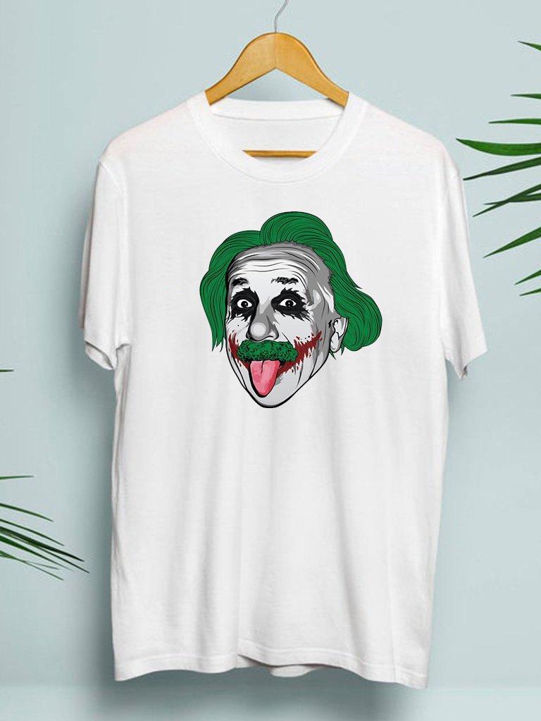 T-shirt męski biały Jokerstein ZUZU