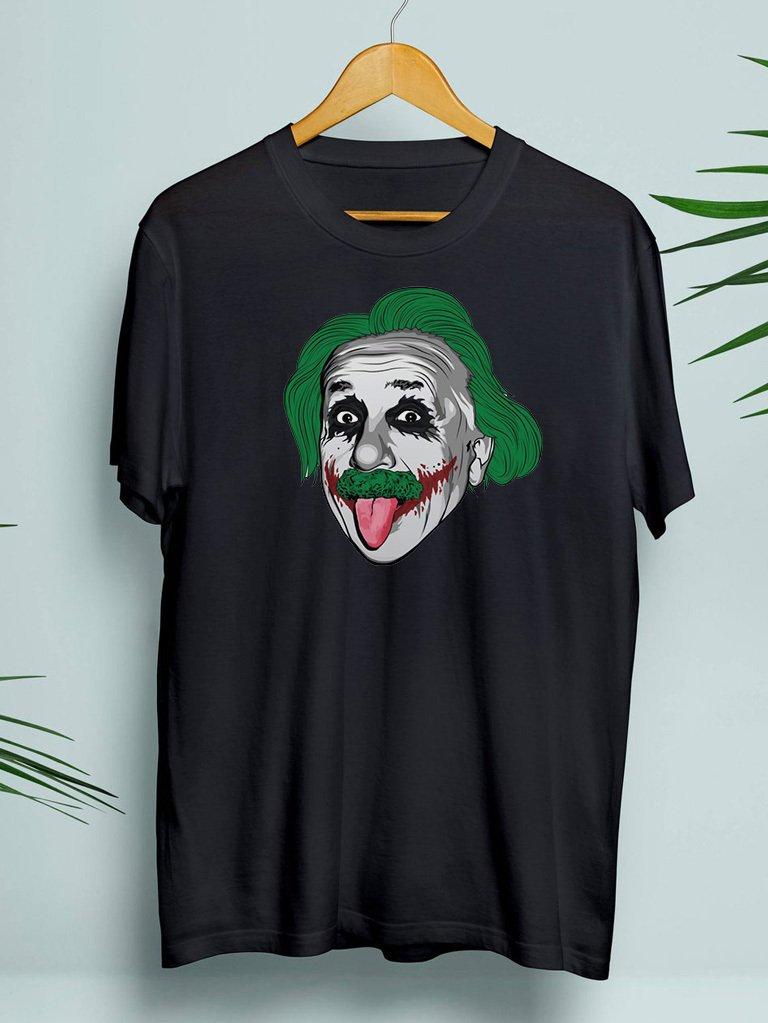 T-shirt męski czarny Jokerstein ZUZU