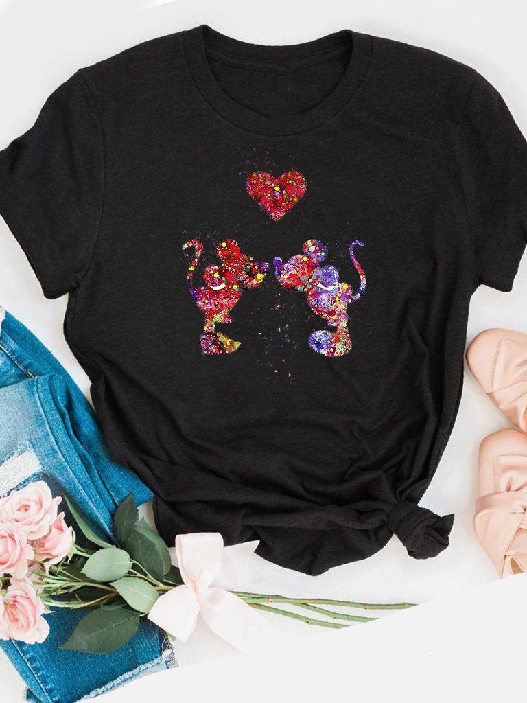 T-shirt czarny Farby miłości Love&Live
