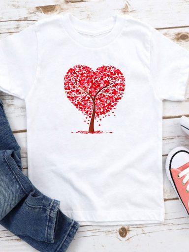 T-shirt biały dla dzieci Lato Love&Live