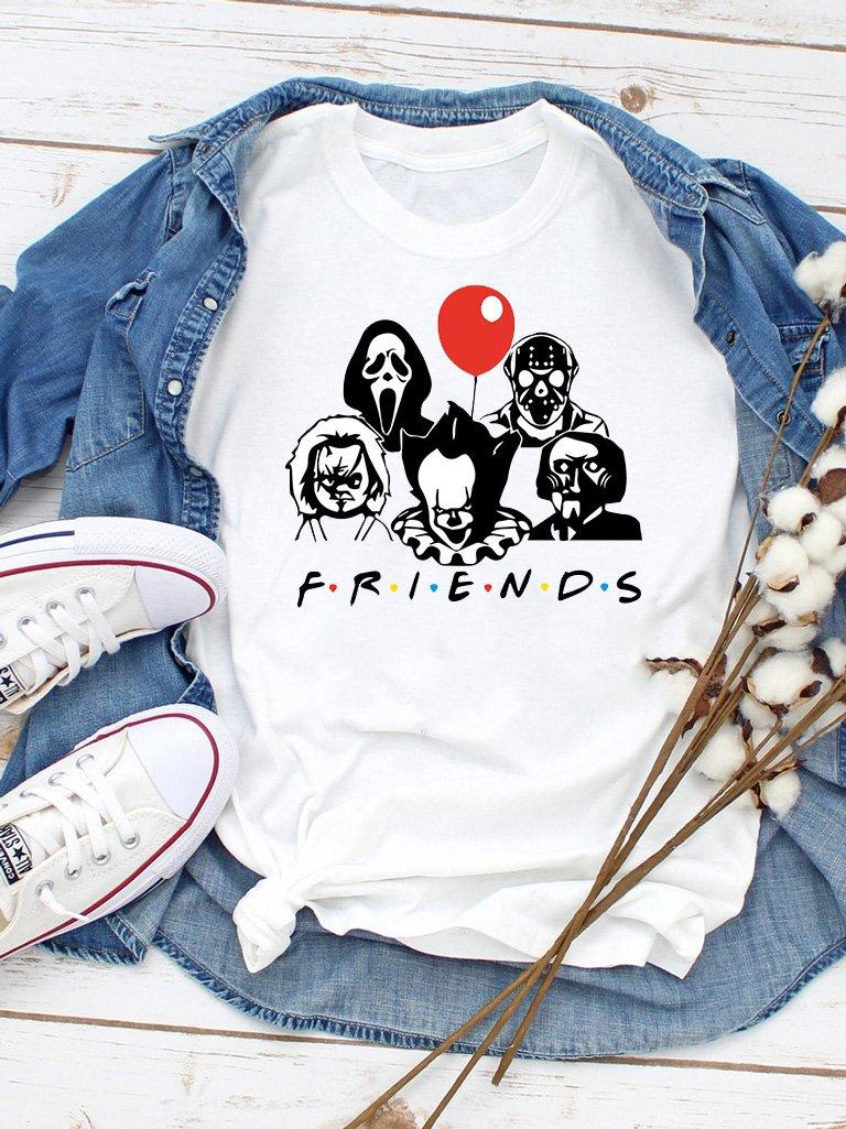 T-shirt biały Friends Love&Live