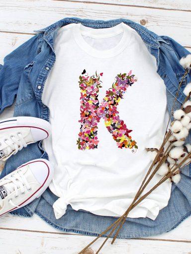T-shirt biały K Love&Live