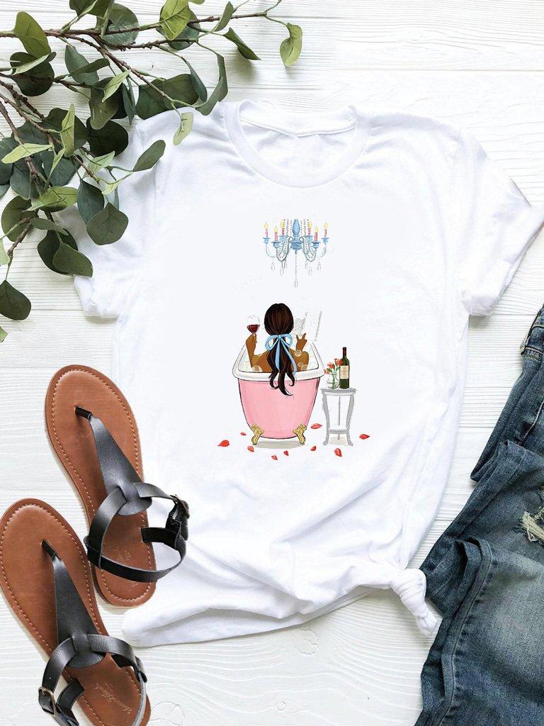 T-shirt biały My relax ZUZU