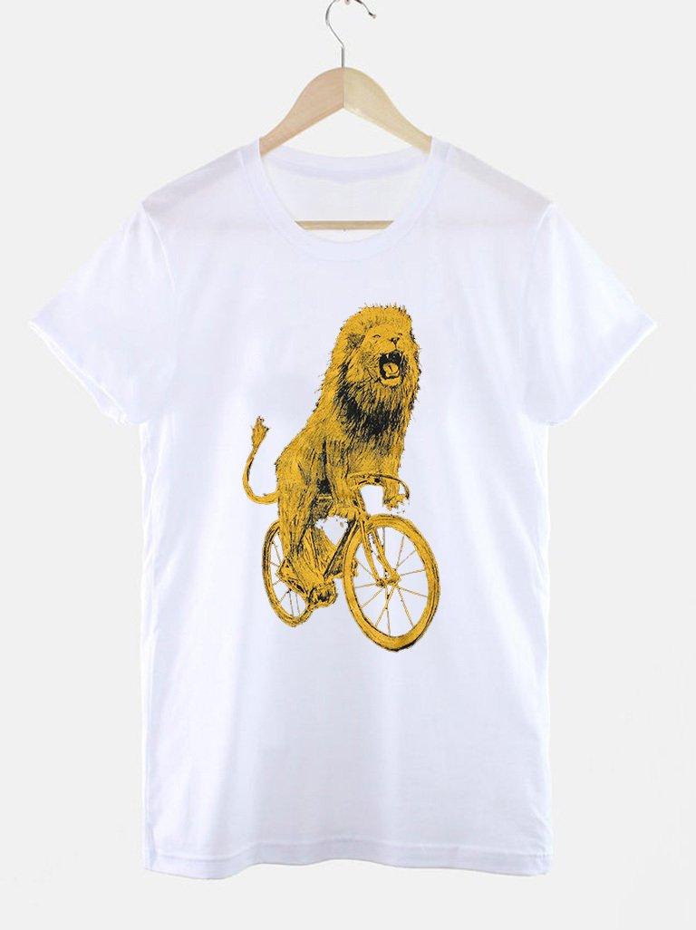 T-shirt biały LEWOROWERZYSTA Love&Live