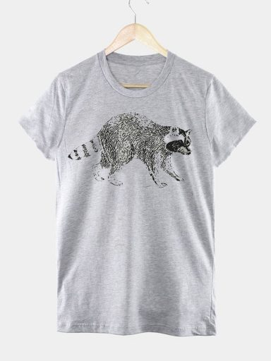 T-shirt męski szary JENOT Love&Live
