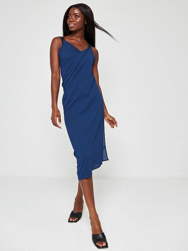 Sukienka plażowa w kolorze ciemnoniebieskim Love&Live