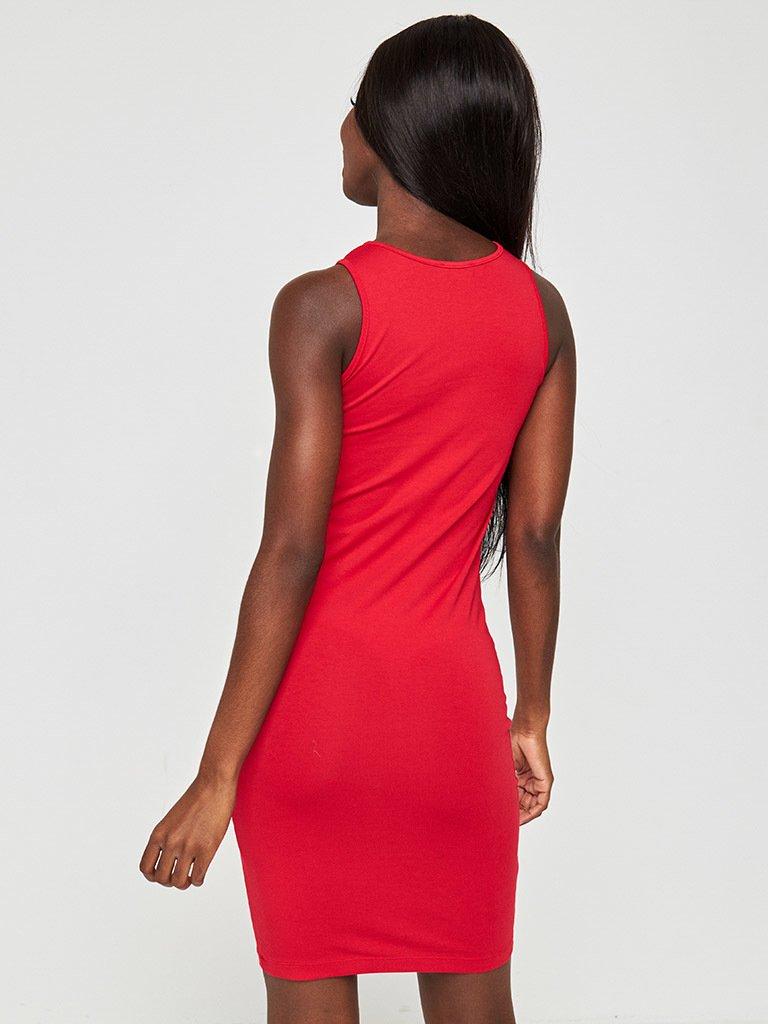 Sukienka mini w kolorze czerwonym Love&Live
