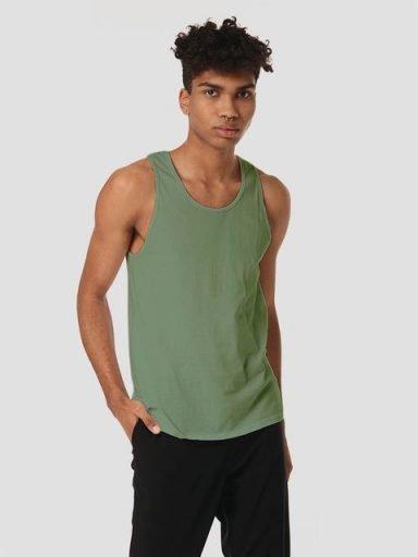 T-shirt męski w kolorze khaki Love&Live