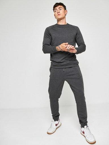 Zestaw dresowy męski w kolorze szarym (bluza i spodnie) Love&Live