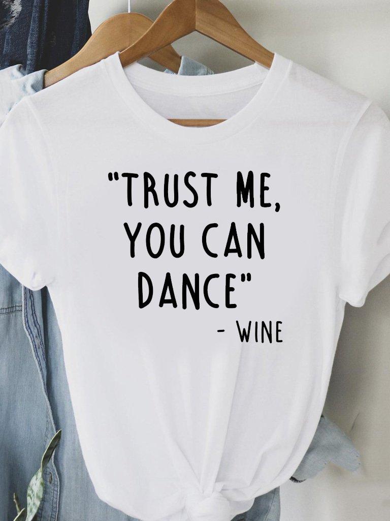 T-shirt biały TRUST ME Love&Live