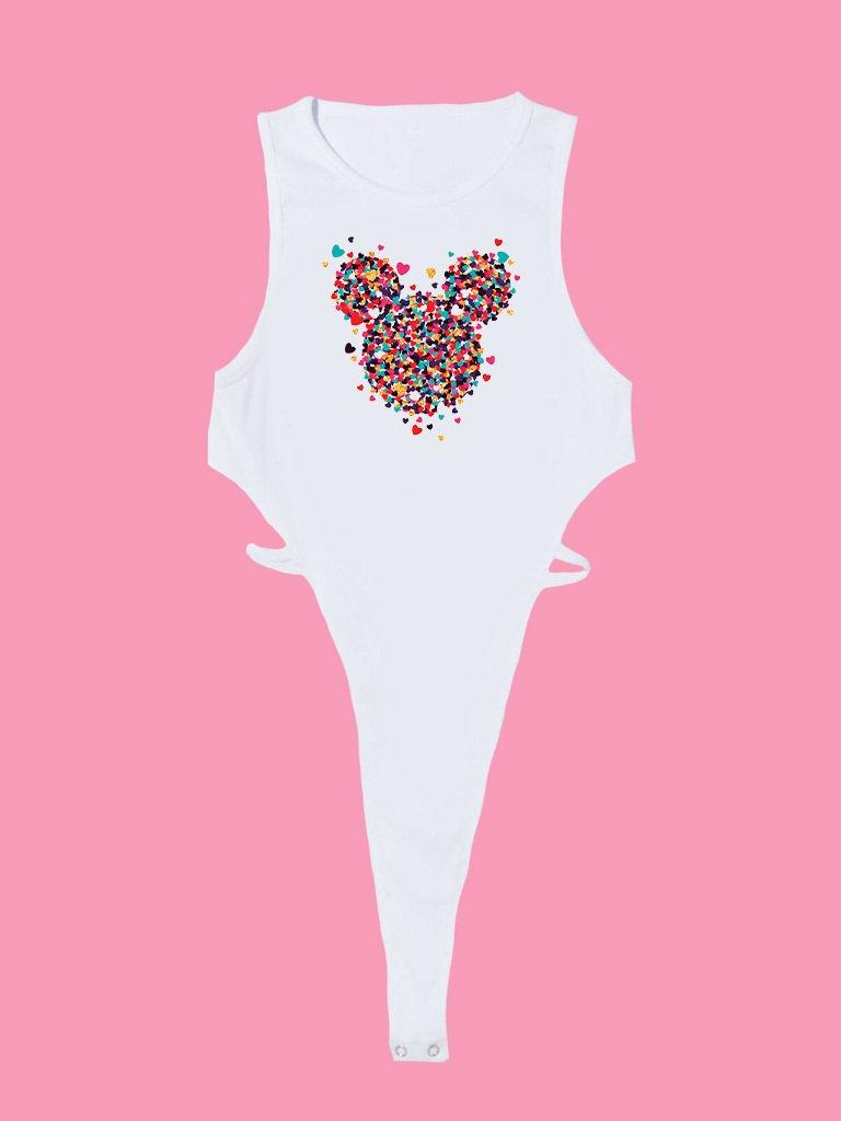 Body białe Części Miłości MINNIE Love&Live