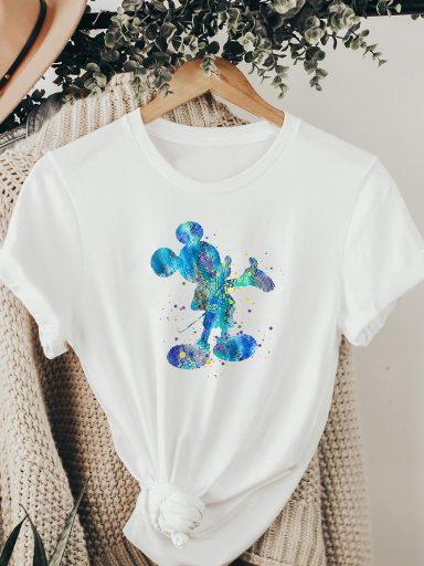 T-shirt biały CERULEAN MIKKI ZUZU