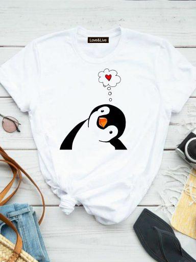 T-shirt biały SEN O MIŁOŚCI Love&Live