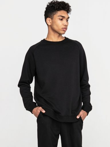 Czarna bluza dresowa ZUZU