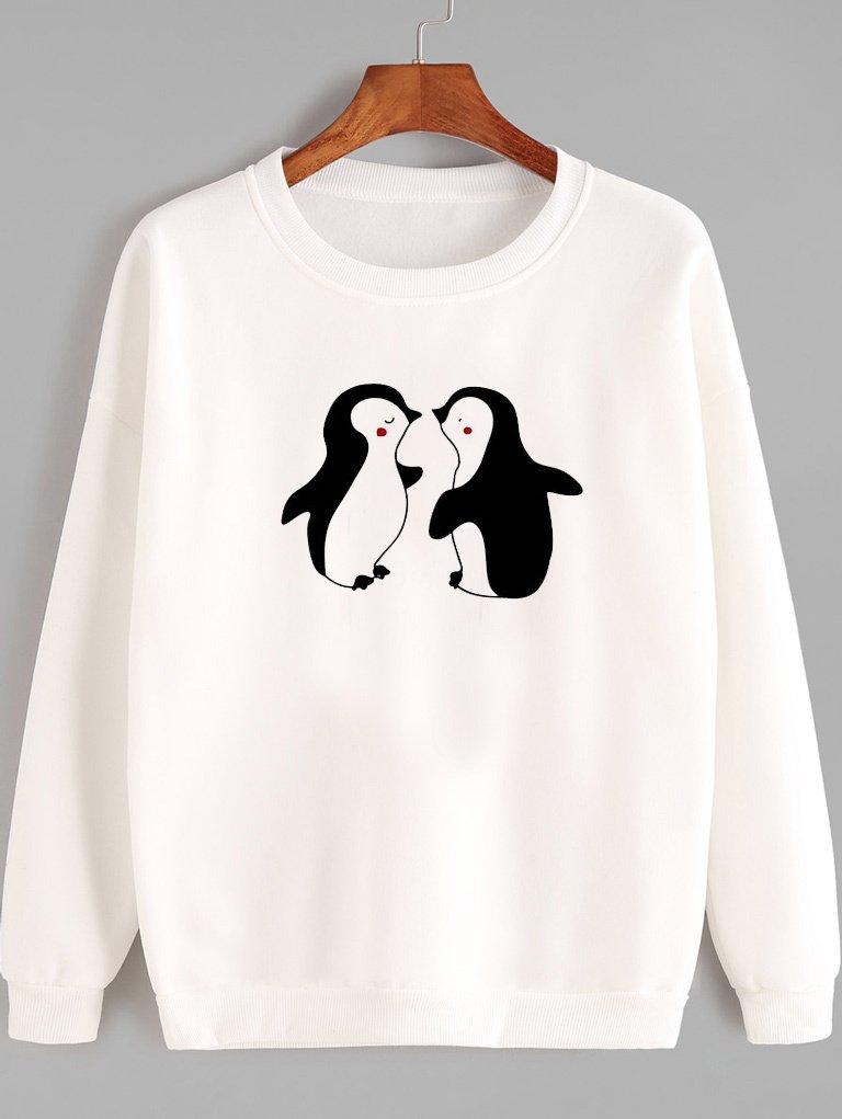 Bluza w kolorze białym MIŁOŚĆ DZIECI Love&Live