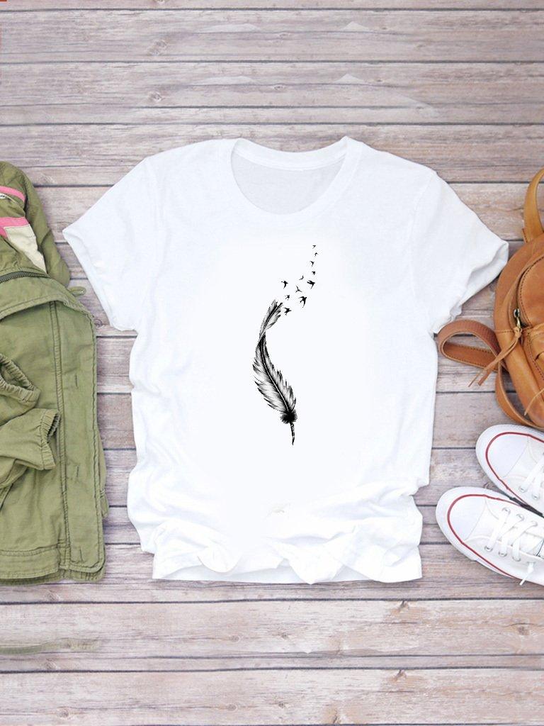 T-shirt biały Wolność-2 ZUZU