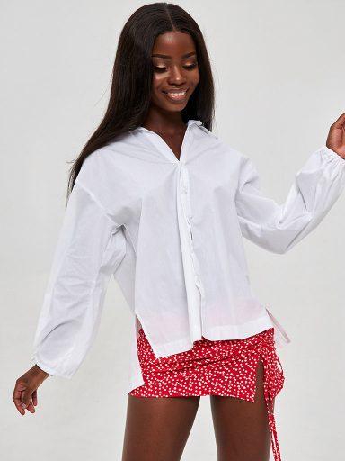 Koszula w kolorze białym Katarina Ivanenko