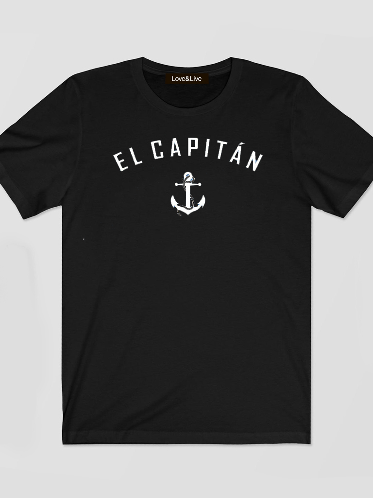 T-shirt męski czarny EL CAPITAN Love&Live