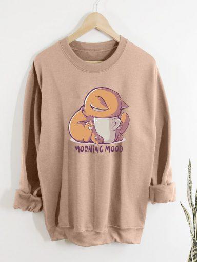 Bluza w kolorze beżowym MORNING MOOD Love&Live
